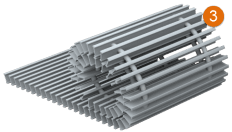 Решетка декоративная отопительного конвектора