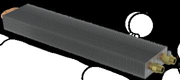 Теплообменник отопительного конвектора
