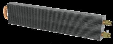 Встроенные в пол конвекторы отопления теплообменник