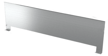 Встроенные в пол конвекторы отопления разделитель потоковй