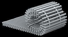 Встроенные в пол конвекторы отопления решетка